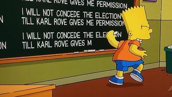 Simpsons Karl Rove